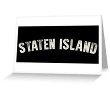 STATEN ISLAND LETTERPRESS Greeting Card