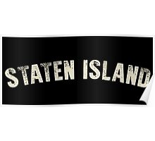 STATEN ISLAND LETTERPRESS Poster