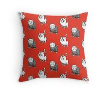 Little Monsters I Throw Pillow