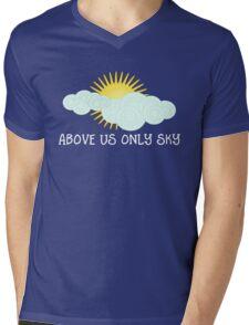 Above Us Only Sky - John Lennon Mens V-Neck T-Shirt