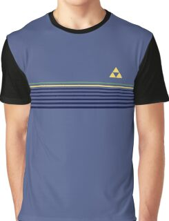 Stripes with Triforce Graphic T-Shirt