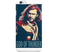 God of Thunder iPhone Case/Skin