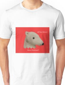 All That Glitters: Polar Bear with Ear-ring T-Shirt