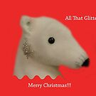 All That Glitters: Polar Bear with Ear-ring by CreativeEm
