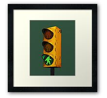 Bigfoot Crossing Framed Print