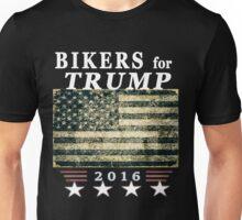 Bikers for Trump Original President Flag HD Design Unisex T-Shirt