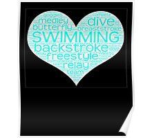I Love Swim  Poster