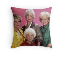 Golden Girls Girls Girls Throw Pillow