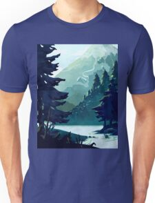 Canadian Mountain Unisex T-Shirt