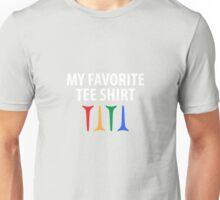 My Favorite Tee Shirt Golfing Unisex T-Shirt