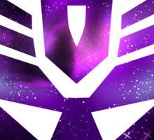 Starry Decepticon Sticker