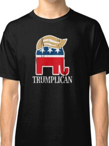 Funny and Bold Trump Elephant with Hair - TRUMPLICAN Classic T-Shirt