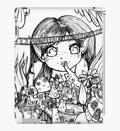Colour Me fairy world  iPad Case/Skin