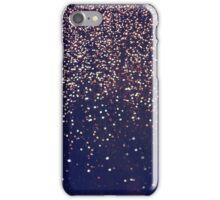 Abstract Rain iPhone Case/Skin
