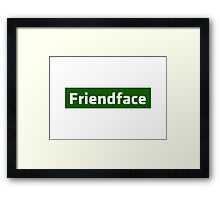 Friendface - The IT Crowd Framed Print