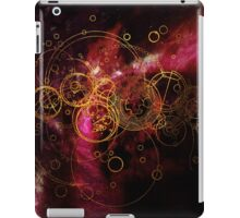 Time Lord Writing (red) iPad Case/Skin