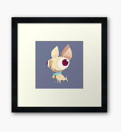 Silly Dog Framed Print
