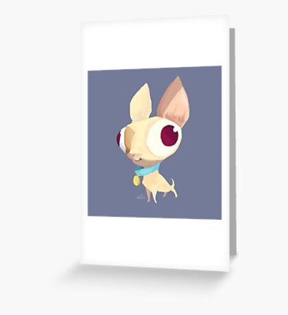 Silly Dog Greeting Card