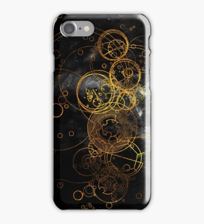 Time Lord Writing (black) iPhone Case/Skin