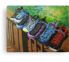 Foam On Deck Canvas Print