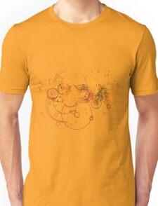Time Lord Writing (purple) Unisex T-Shirt