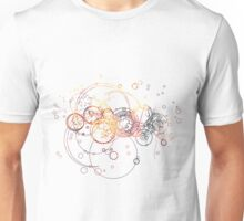 Time Lord Writing (silver) Unisex T-Shirt