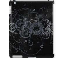 Time Lord Writing (silver) iPad Case/Skin