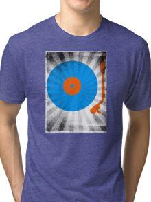 Vinyl Record Pop T-Shirt 2 Tri-blend T-Shirt