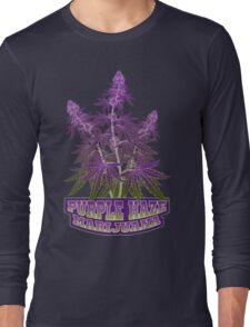 Purple Haze Medicinal Marijuana Cannabis Long Sleeve T-Shirt