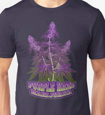 Purple Haze Medicinal Marijuana Cannabis Unisex T-Shirt