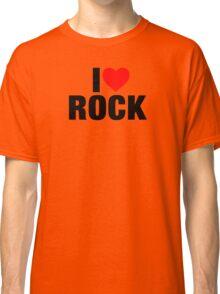 I Love Rock Music Classic T-Shirt