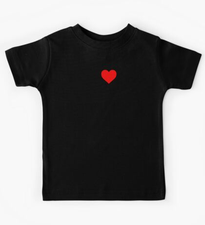 I Love Rock Music Kids Tee