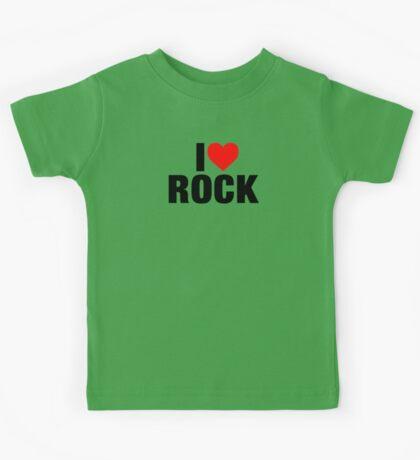 I Love Rock Music Kids Tee