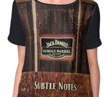 Jack Daniels - Subtle Notes Chiffon Top