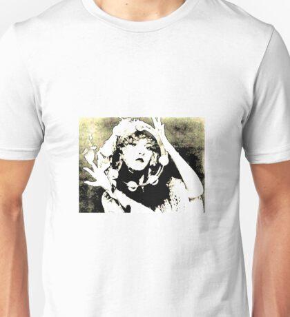 Stevie Nicks and Tamborine Unisex T-Shirt