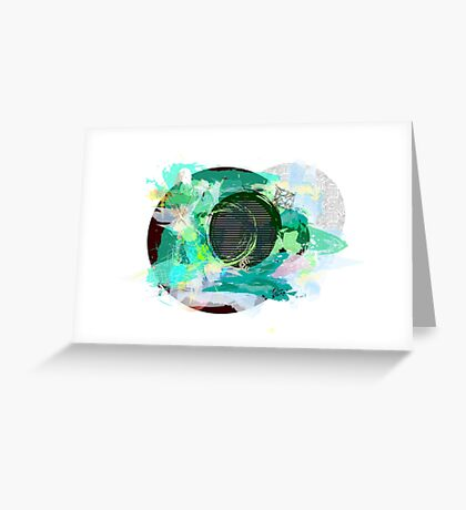 """Dark Planet"" Greeting Card"