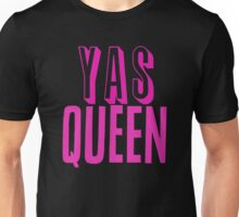 Yas Queen Hot Pink Unisex T-Shirt