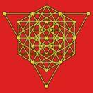Sacred Geometry #1 (Yellow) by Eyeland Clothing