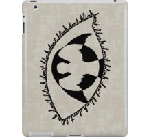 Don't Blink - (Weeping Angel In Your Eye) iPad Case/Skin