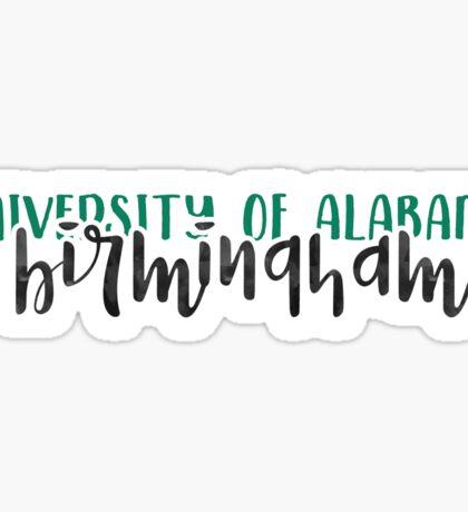 University of Alabama Birmingham - Style 1 Sticker