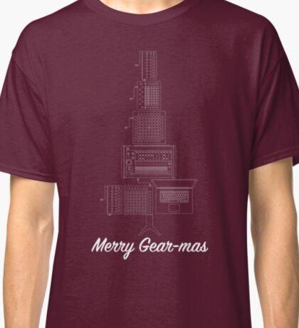 Merry Gearmas - White Classic T-Shirt