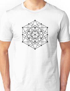 Sacred Geometry #2 (Black) Unisex T-Shirt