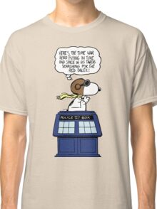 Snoopy and Dr Who Classic T-Shirt