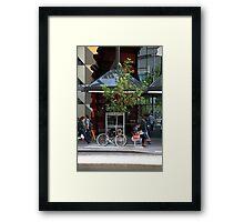 Campus life Framed Print