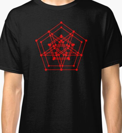 Sacred Geometry #3 (Red) Classic T-Shirt