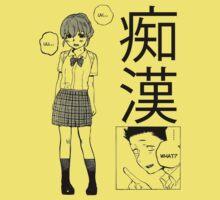 Manga Love (white) Kids Clothes