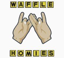 Waffle Homies One Piece - Short Sleeve