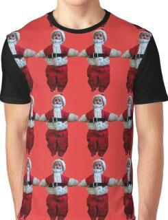 Creepy Vintage Santa Claus 2 Graphic T-Shirt