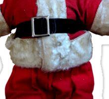 Creepy Vintage Santa Claus 2 Sticker