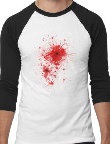 Blood spatter / bullet wound - Costume  Men's Baseball ¾ T-Shirt